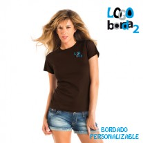camiseta bordada