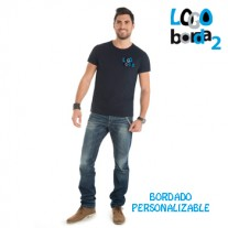 camiseta bordada dogo